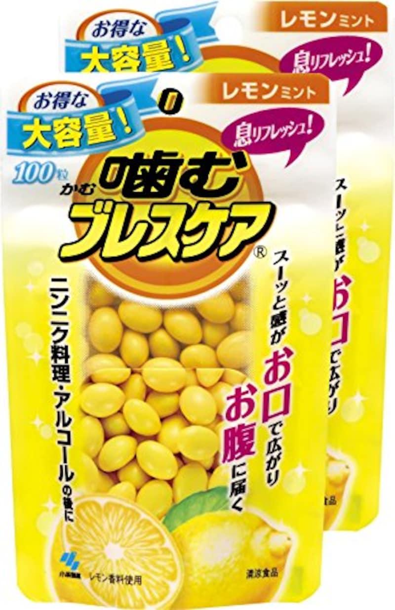小林製薬,息リフレッシュグミ レモンミント