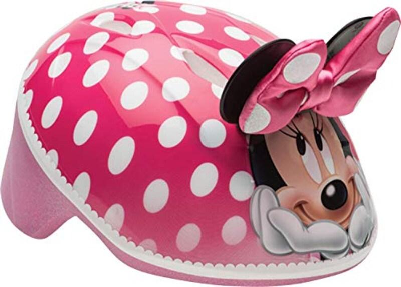 BELL,ディズニー ミニーマウス 3D ヘルメット,7059827