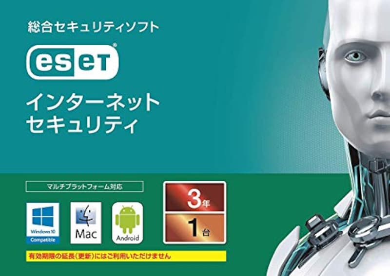 キヤノンITソリューションズ,ESET インターネット セキュリティ 1台3年版 カード版