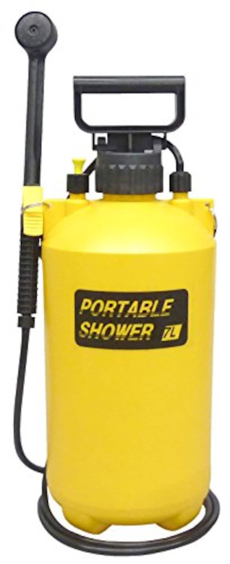 マルハチ産業,加圧式ポータブルシャワー