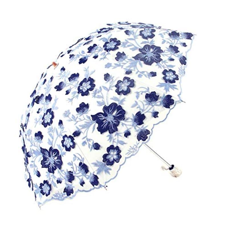 UVANTI,花刺繍日傘