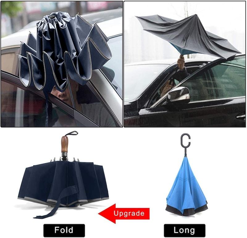 Lejorain,逆折り式折り畳み日傘
