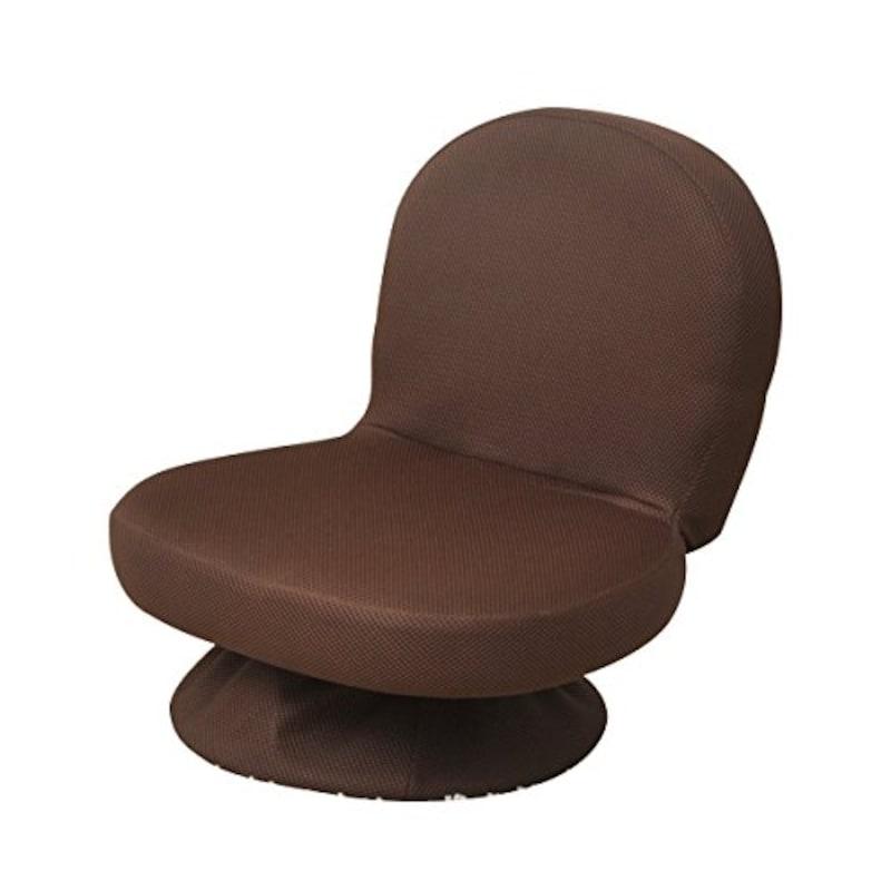 山善(YAMAZEN),回転座椅子,SAGR-45-D(WDB)