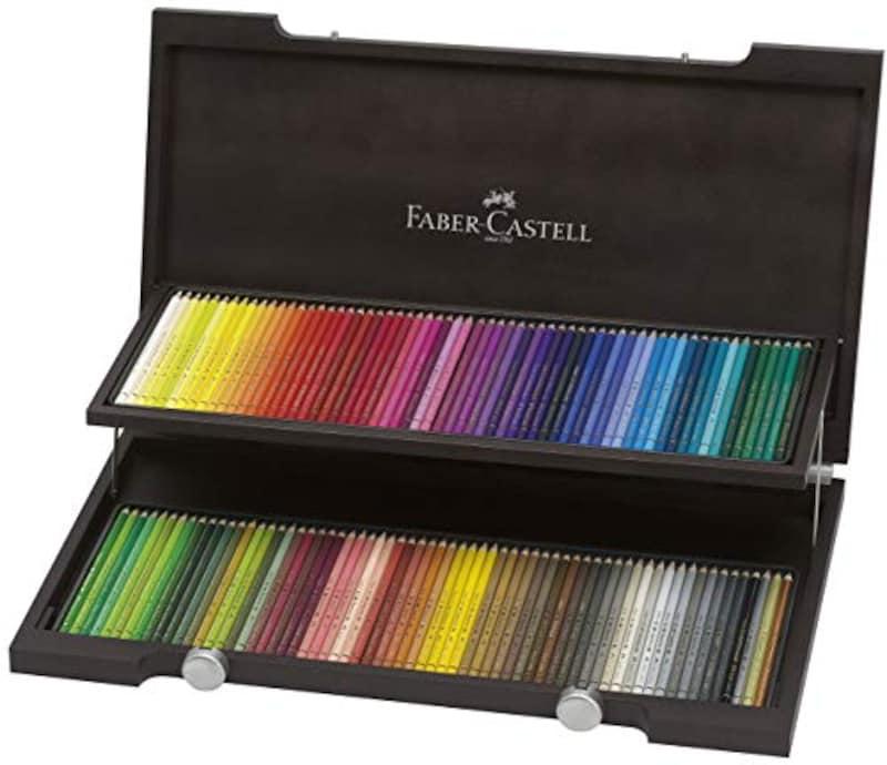 ファーバーカステル(FABER-CASTELL),ポリクロモス色鉛筆 120色セット 木箱,110013