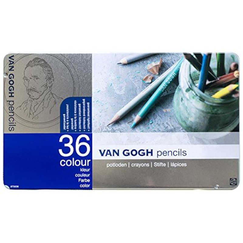 ヴァンゴッホ(VAN GOGH),油性色鉛筆 36色,T9773-0036