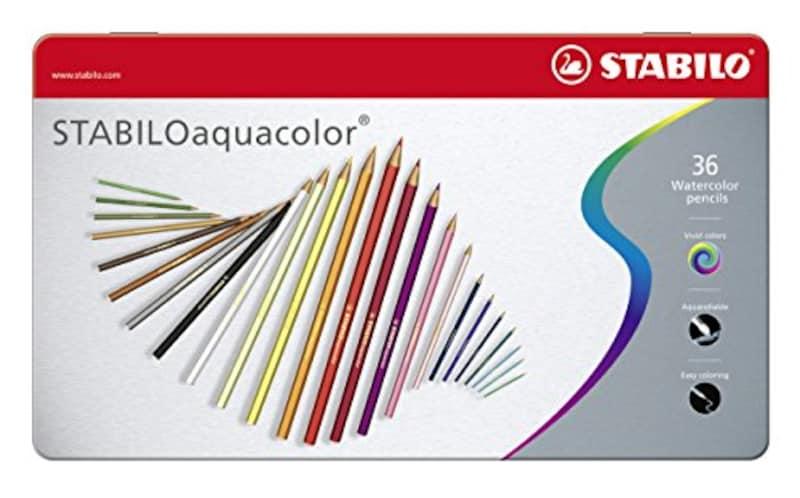 スタビロ(STABILO),水彩色鉛筆 アクアカラー 36色