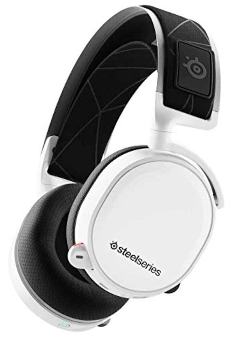 SteelSeries,ゲーミングヘッドセット Arctis 7 White (2019 Edition)