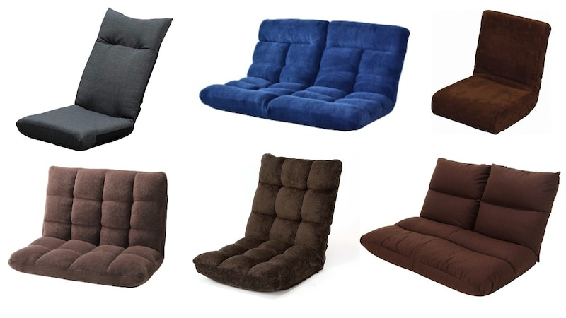 座椅子おすすめ人気ランキング25選+カバー3選 コンパクトでおしゃれなものからかわいいものまで、ふたりがけのソファも紹介!