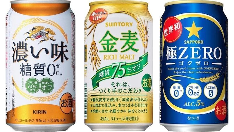 糖質ゼロ・糖質オフビールのおすすめ人気ランキング16選|カロリーオフ商品も多数!
