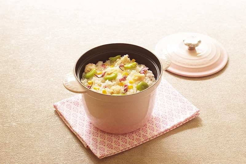 Le Creuset(ル・クルーゼ),ココット・エブリィ シェルピンク