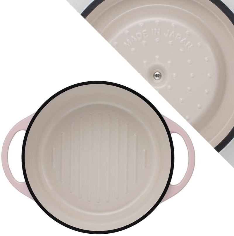Vermicular(バーミキュラ),オーブンポットラウンド パールピンク,PNK22R