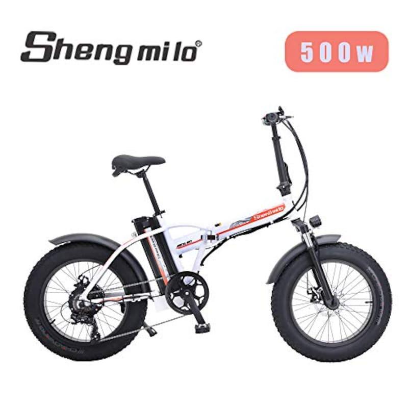Shengmilo,折りたたみファットバイク