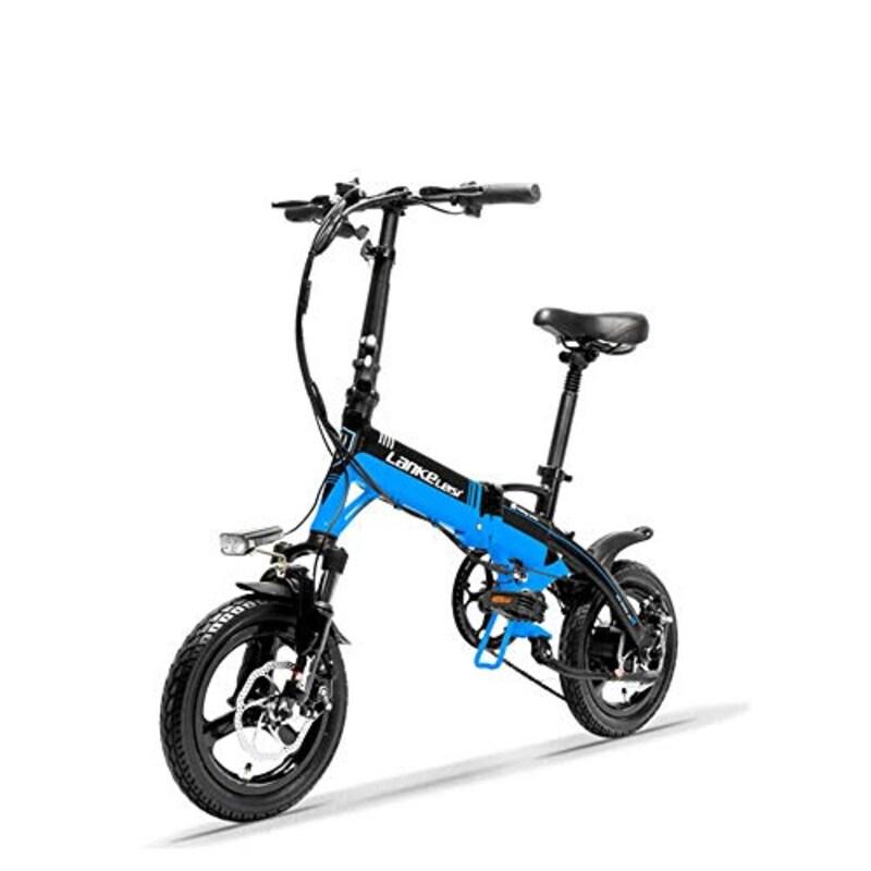 LANKELEISI,ミニポータブル折りたたみ自転車