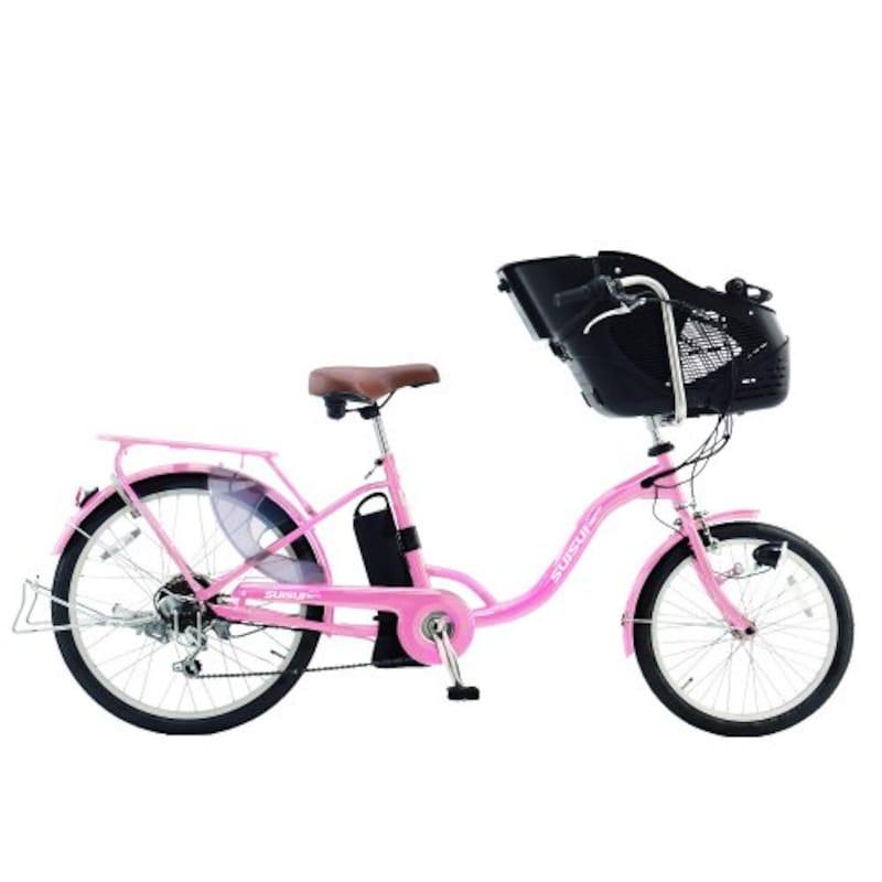 SUISUI,電動自転車 子供乗せ,KH-DCY07