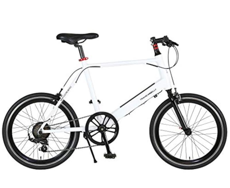 TRANS MOBILLY(トランスモバイリー),電動アシストミニベロ自転車 スポーツアルミフレームモデル,E-MAGIC207(TM-MV207E)