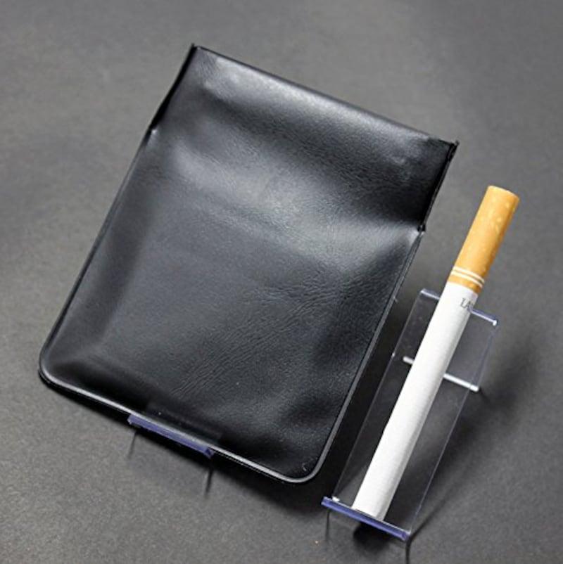 エレファント,ポケット灰皿 ちっポケレギュラーサイズ黒無地
