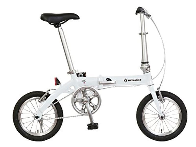 ルノー(RENAULT),高さ調整機能付きハンドルステム搭載折りたたみ式自転車,LIGHT8 AL-FDB140