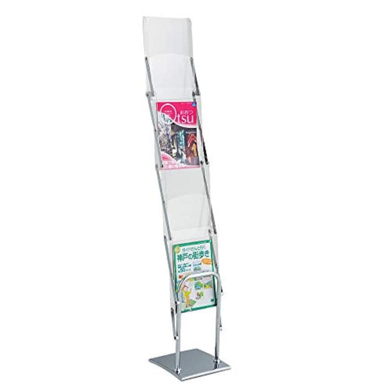 ストア・エキスプレス,折りたたみ式 パンフレットスタンド 収納バッグ付き,61-213-9-1
