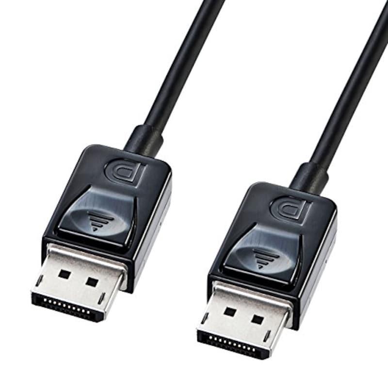 サンワサプライ,DisplayPortケーブル,KC-DP2K