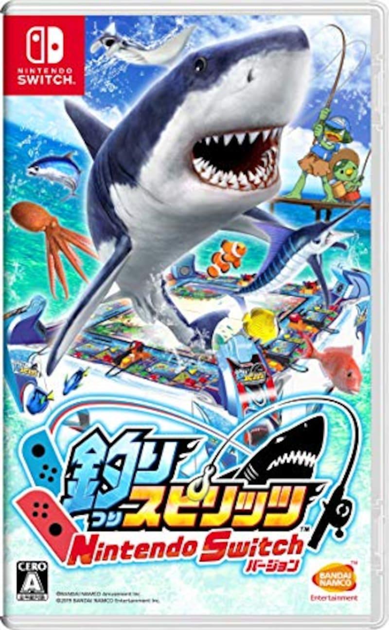 バンダイナムコエンターテインメント,釣りスピリッツ Nintendo Switchバージョン