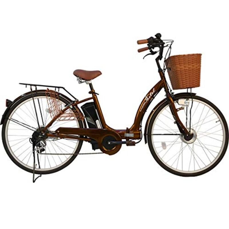 MOBIMAX,折りたたみ電動アシスト自転車 パステル F シマノ