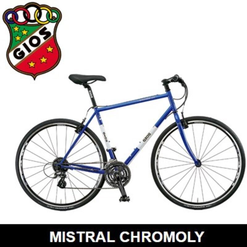 GIOS(ジオス),MISTRAL CHROMOLY 2021モデル ブルー