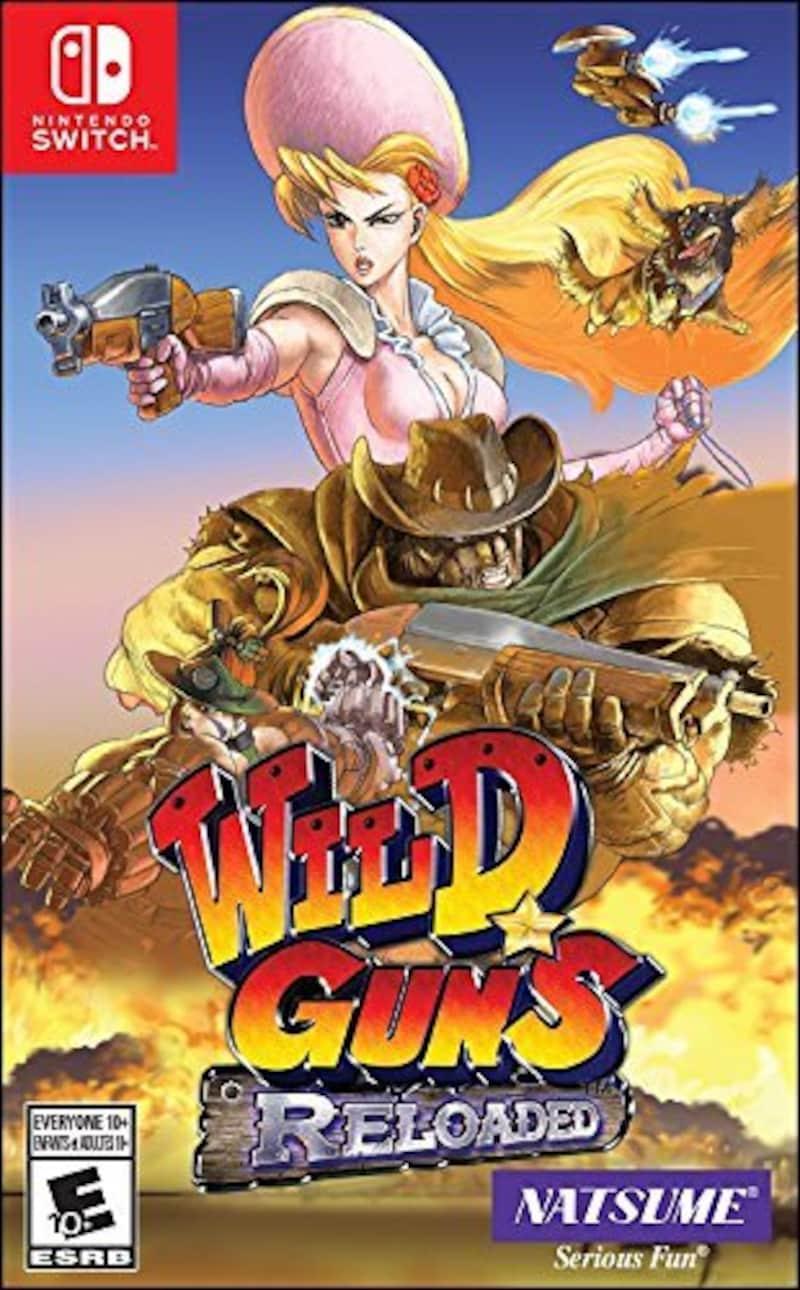 NatsumeAtari,Wild Guns Reloaded ワイルドガンズ・リローデッド