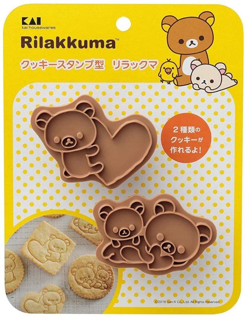 貝印 kai,スタンプ クッキー型 リラックマ,DN0210