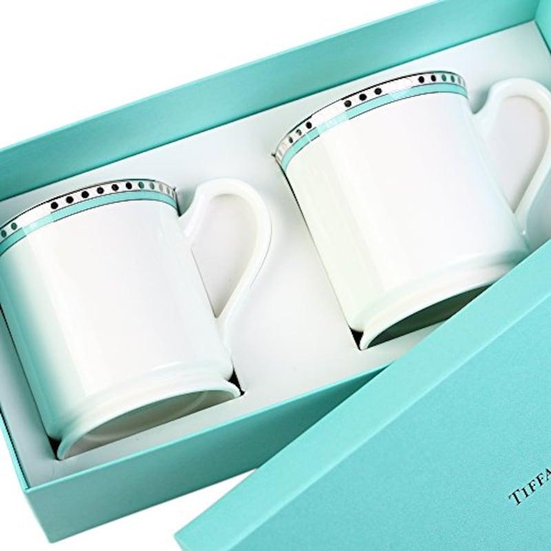 TIFFANY&Co,ペアマグカップ【名入れ対応可】