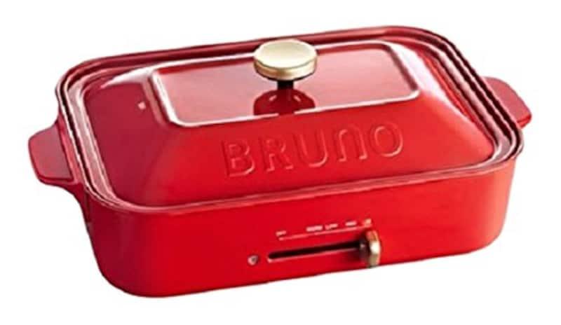 BRUNO,コンパクトホットプレート,BOE021-RD
