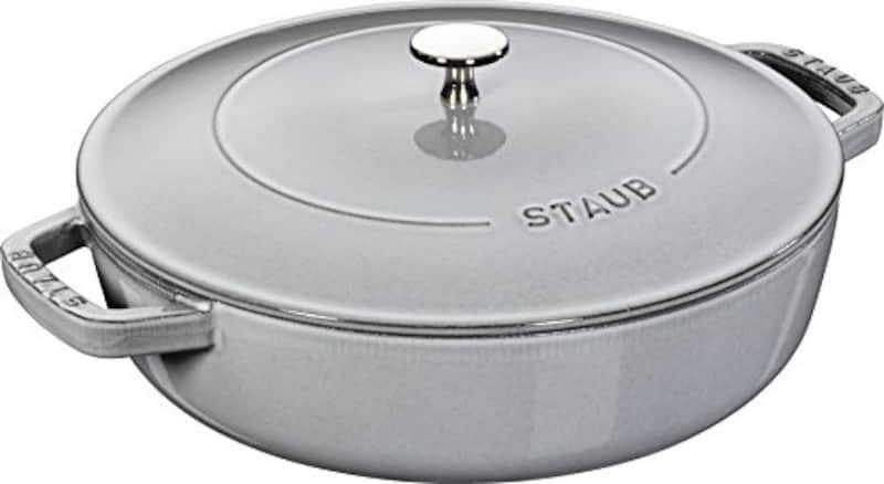 ストウブ(Staub),ブレイザー ソテーパン グレー 24cm