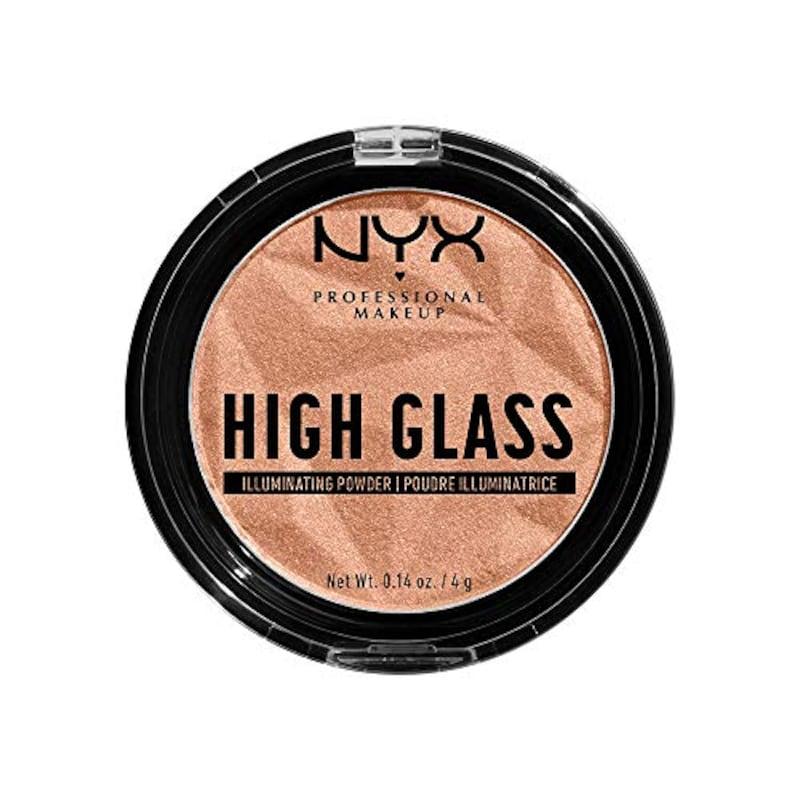 NYX Professional Makeup(ニックス プロフェッショナル メイクアップ),ハイグラス イルミネイティング パウダー ハイライト02