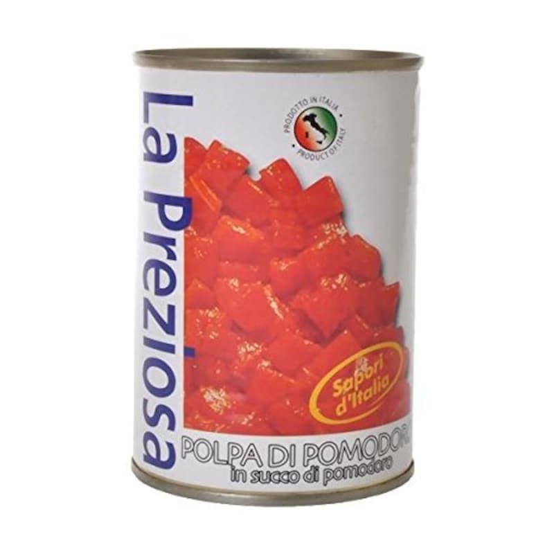 La Preziosa(ラ・プレッツィオーザ),ダイス トマト缶,-