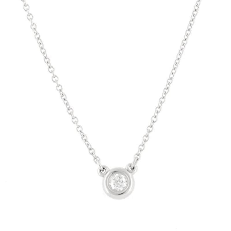 TIFFANY(ティファニー),ダイヤモンド 0.03ctネックレス,24944387