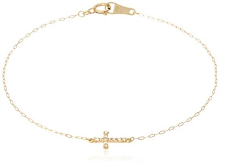 agete(アガット),K18ダイヤモンドブレスレット,1015111401008990