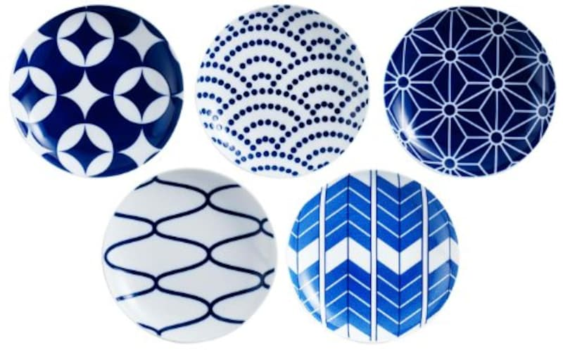 KIHARA(キハラ),KOMON 小皿 5枚 セット