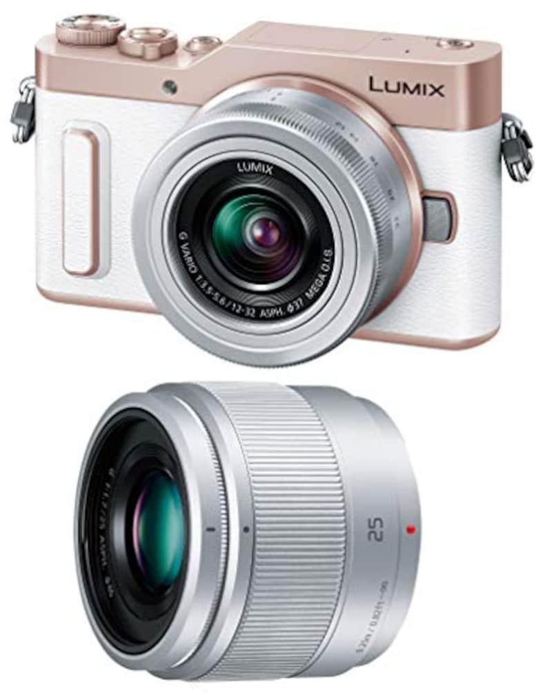 Panasonic(パナソニック),ミラーレス一眼カメラ ルミックス GF10 ダブルレンズキット,DC-GF10W-W