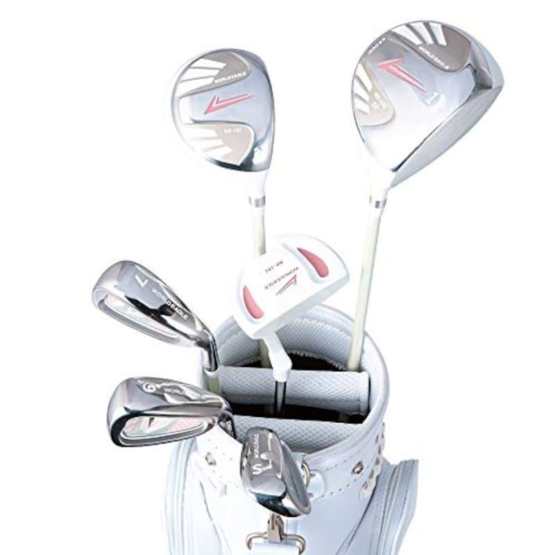 WORLD EAGLE(ワールドイーグル),レディース ゴルフ ハーフセット