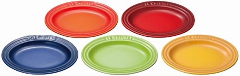 ル・クルーゼ(Le Creuset),皿 ミニ・オーバル・プレート マルチカラー