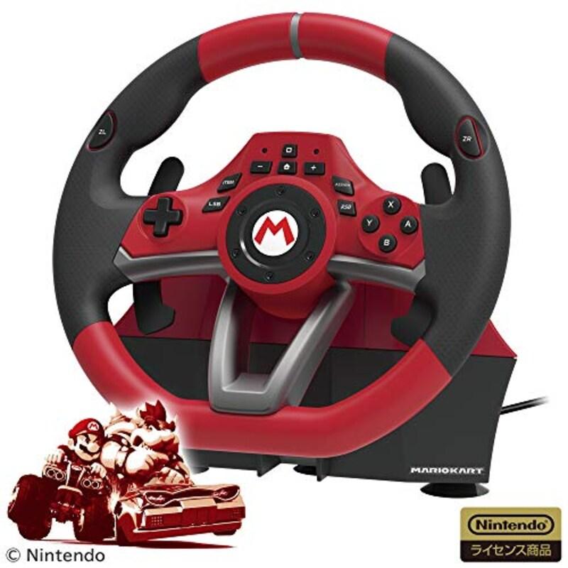 ホリ(HORI),マリオカートレーシングホイールDX for Nintendo Switch,NSW-228