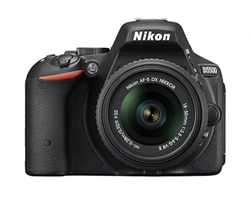 Nikon(ニコン),デジタル一眼レフカメラ D5500 18-55 VRII レンズキット,D5500LK18-55BK