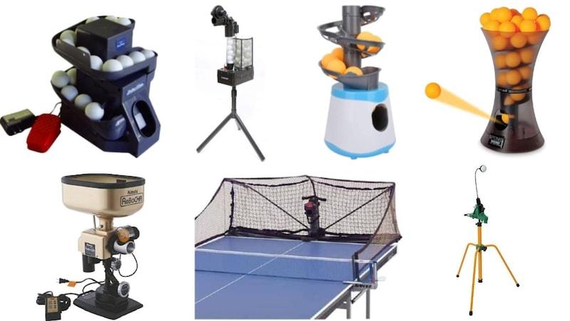 卓球マシンおすすめランキング15選|一人練習用の人気タイプを比較!安いものまで紹介
