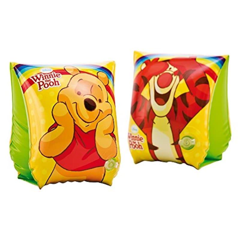インテックス,Disney デラックスアームバンド Winnie the Pooh,56644EU