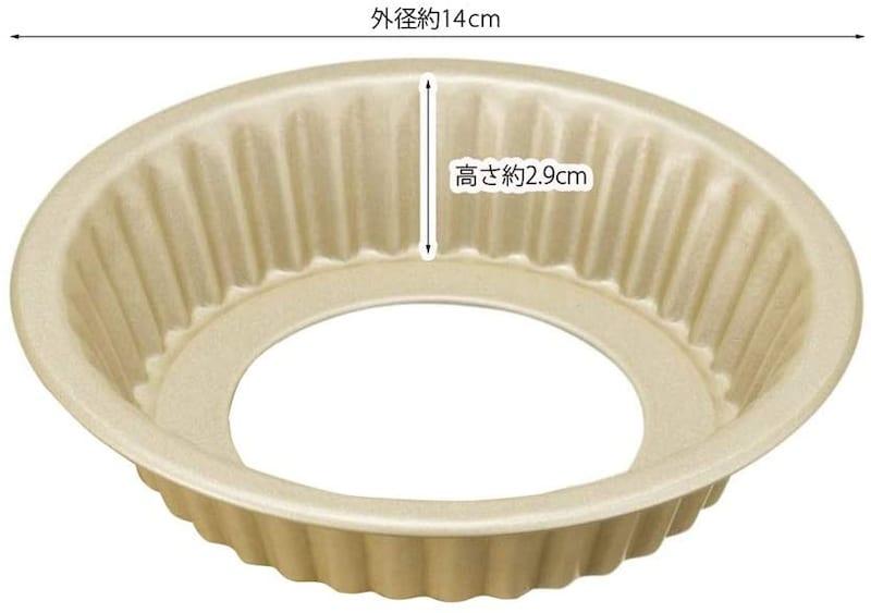 貝印(Kai Corporation),貝印×COOKPAD 円形タルト型,DL-8050