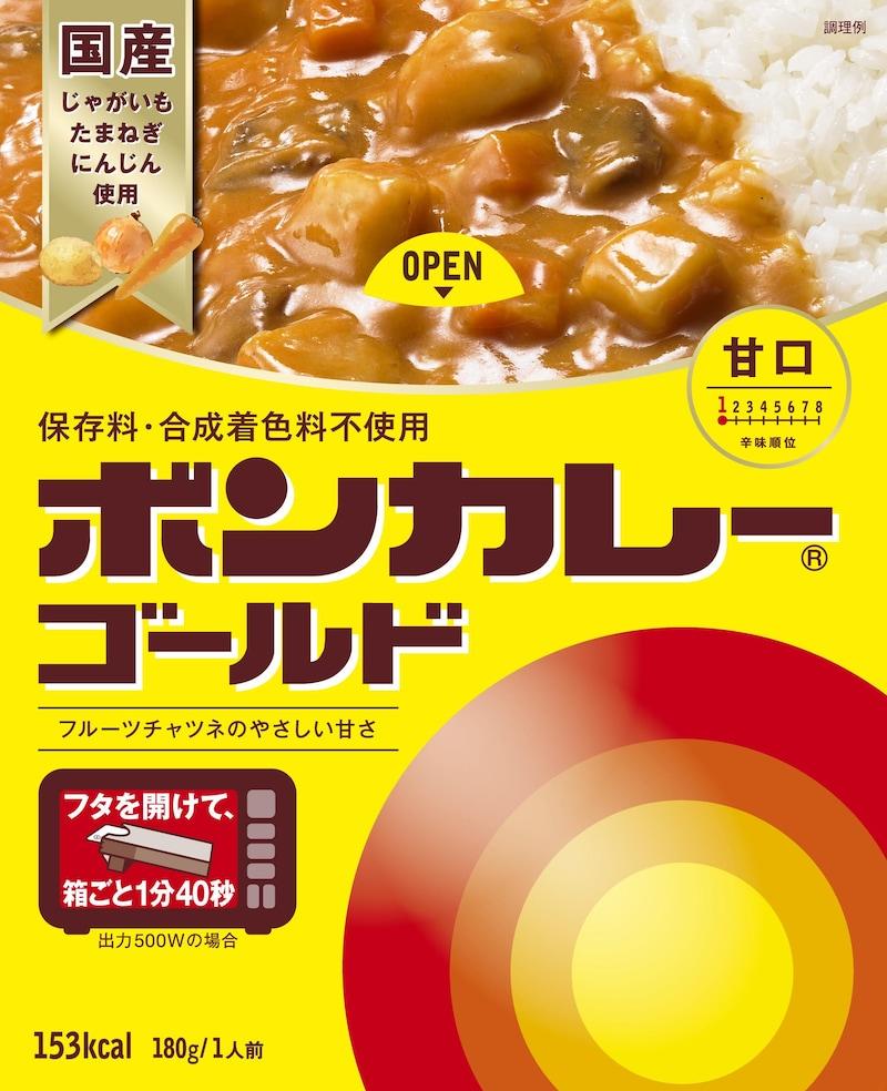 大塚食品,ボンカレーゴールド甘口