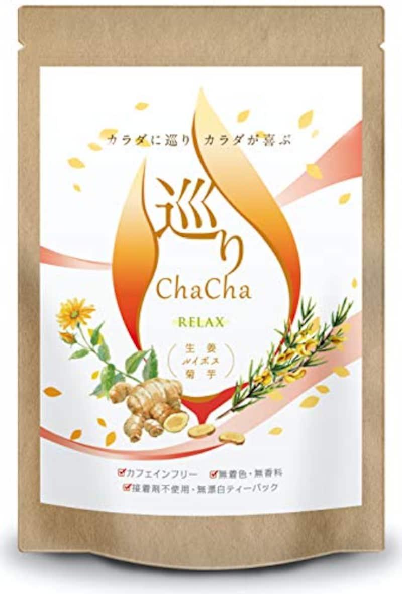 巡りChaCha,生姜 ルイボスティー ノンカフェイン 菊芋