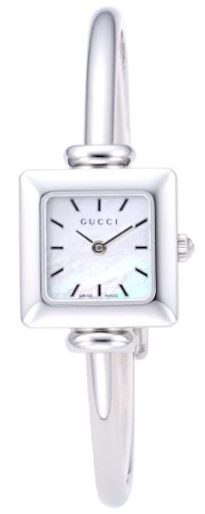 GUCCI, 1900 ホワイトパール文字盤 シルバー,YA019518