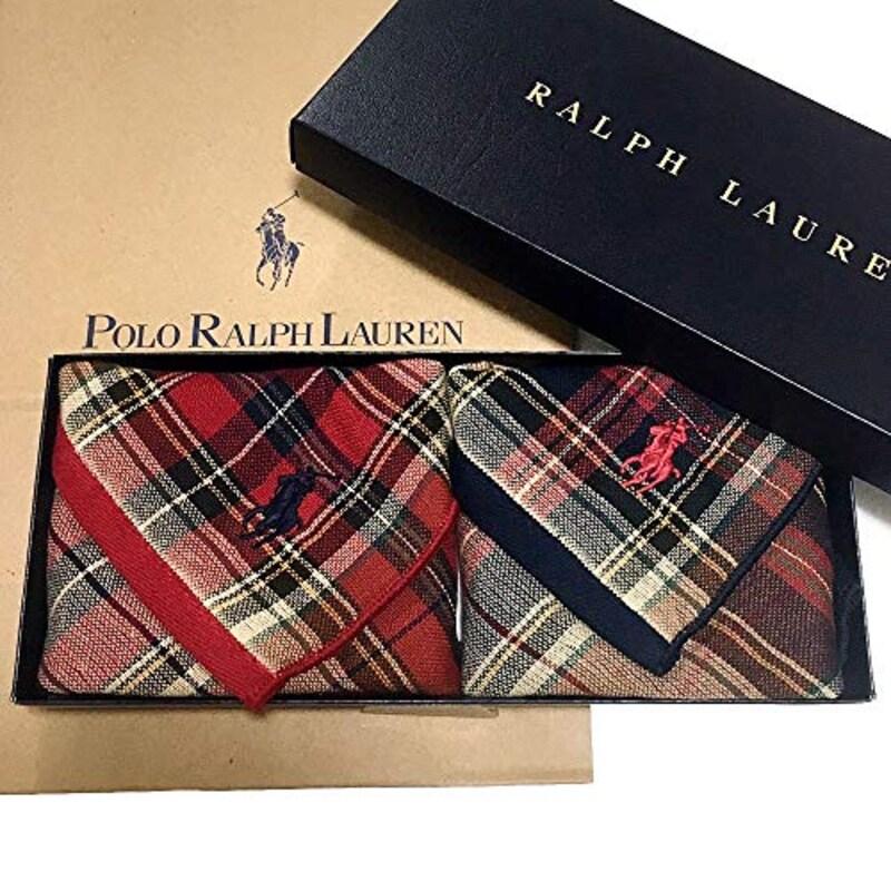 Ralph Lauren(ラルフローレン),ギフトBOX付きハンドタオル2枚セット