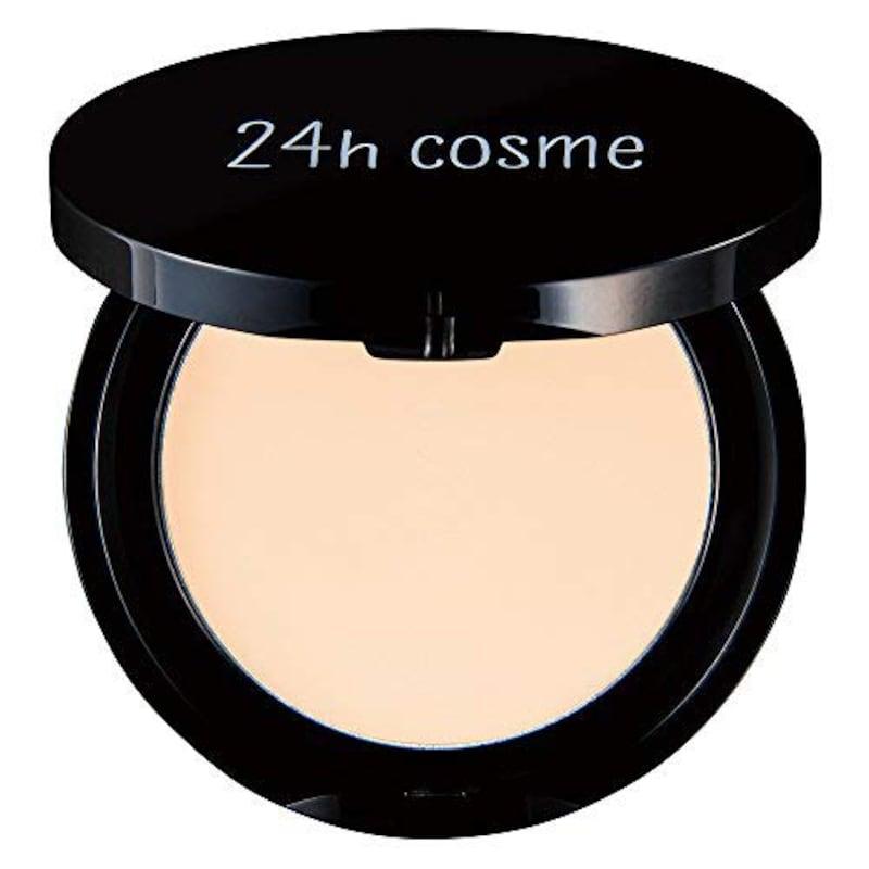 24h cosme,ミネラルクリームファンデ