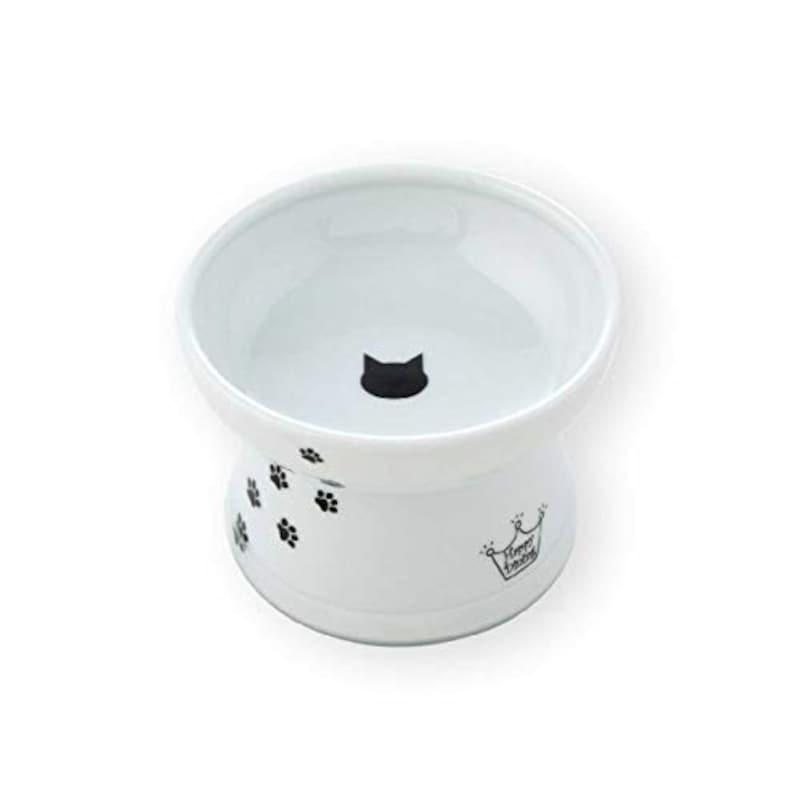 猫壱,脚付フードボウル 猫柄 レギュラーサイズ,DC-0703-SC02